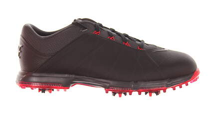 New Mens Golf Shoe Nike Lunar Fire Wide 9.5 Black/Red MSRP $125