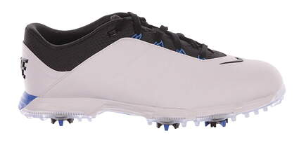 New Mens Golf Shoe Nike Lunar Fire Wide 11 White/ Photo Blue MSRP $125