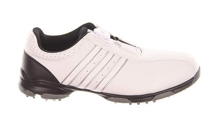 New Mens Golf Shoe Adidas 360 Traxion BOA Wide 9 White MSRP $100