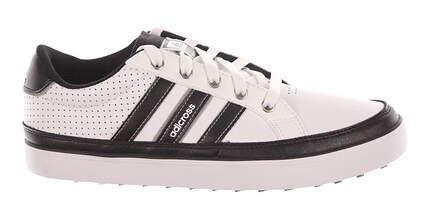 New Mens Golf Shoe Adidas Adicross IV Wide 11 White/Black MSRP $100