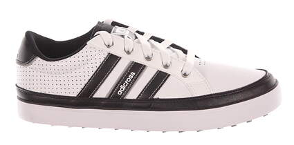 New Mens Golf Shoe Adidas Adicross IV Wide 11.5 White/Black MSRP $100
