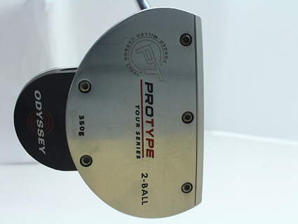 Odyssey Protype Tour 2-Ball Putter Steel Left Handed 35 in