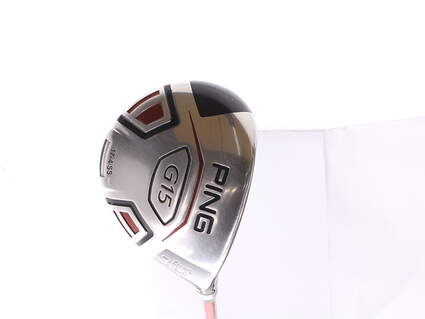 Ping G15 Draw Fairway Wood 3 Wood 3W 15.5* Ping TFC 149F Graphite Senior Right Handed 42.75 in