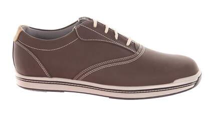 New Mens Golf Shoe Footjoy Contour Casual Medium 12 Brown MSRP $140