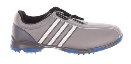 New Mens Golf Shoe Adidas 360 Traxion BOA Medium 9.5 Gray MSRP $100
