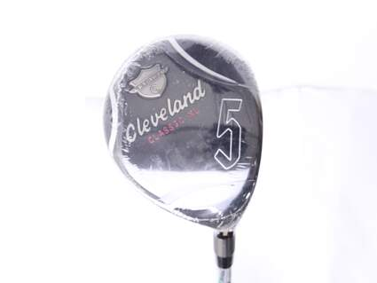 Mint Cleveland Classic XL Fairway Wood 5 Wood 5W 18* Cleveland Action Ultralite W Graphite Ladies Right Handed 41.5 in