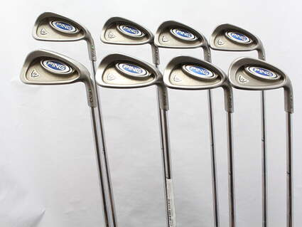 Ping i5 Iron Set 3-PW Ping Z-Z65 with Cushin Insert Steel Stiff Right Handed Green Dot 38 in