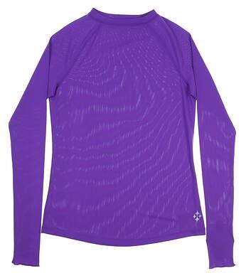 New Womens Jo Fit UV Top X-Small XS Violet MSRP $70 UT001-VLT