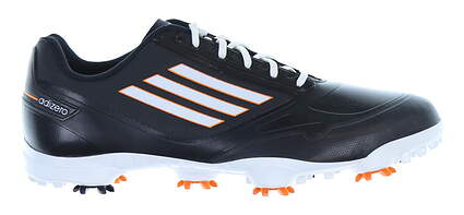 New Mens Golf Shoe Adidas Adizero One Medium 8.5 Black/White/Orange MSRP $150