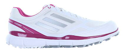 New Womens Golf Shoe Adidas Adizero Sport II Medium 9 White/Pink MSRP $120