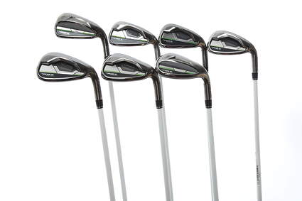 TaylorMade RocketBallz Max Iron Set 5-PW SW TM RBZ Ozik Program 45 Graphite Ladies Right Handed 37.75 in