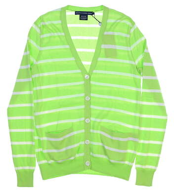 New Womens Ralph Lauren Cardigan Small S Green MSRP $90