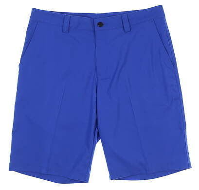 New Mens Adidas Climalite Golf Shorts Size 33 Blue MSRP $60 Z25227
