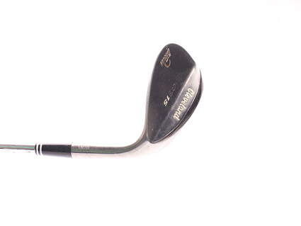 Cleveland CG15 Black Pearl Wedge Sand SW 54* 14 Deg Bounce Cleveland Traction Wedge Steel Wedge Flex Right Handed 35.5 in