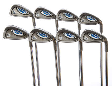 Ping i5 Iron Set 3-PW Stock Steel Shaft Steel Stiff Right Handed Black Dot 37.75 in
