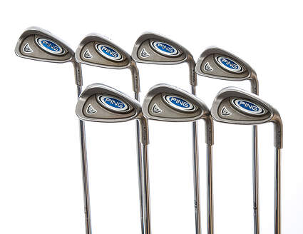 Ping i5 Iron Set 4-PW Ping AWT Steel Regular Right Handed Black Dot 37.5 in