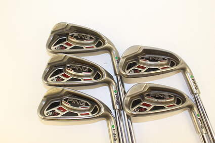 Ping G15 Iron Set 6-PW Stock Steel Shaft Steel Regular Right Handed 37.5 in