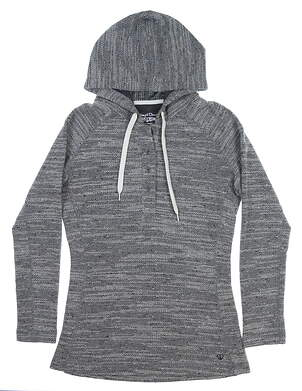 New Womens Straight Down Exhale Pullover X-Small XS Oatmeal MSRP $98 W14214