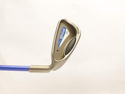 Ping G2 Single Iron 5 Iron Grafalloy prolaunch blue Graphite Regular Right Handed Black Dot 38.25 in