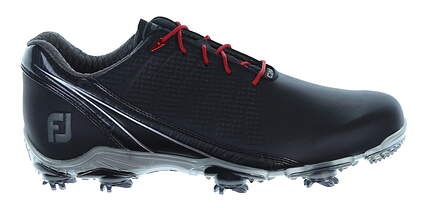 New Mens Golf Shoe Footjoy DNA 2.0 Wide 9 Black MSRP $200 53385