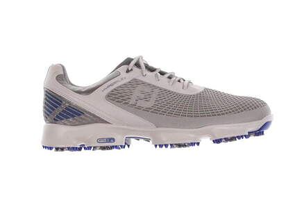 New Mens Golf Shoe Footjoy Hyperflex Wide 10 Gray MSRP $200