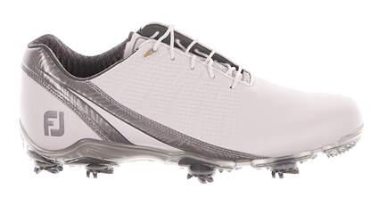 New Mens Golf Shoe Footjoy DNA 2.0 Wide 9.5 White/Grey MSRP $200