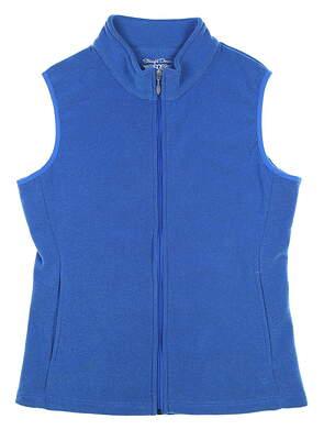 New Womens Straight Down Golf Vest Medium M Blue MSRP $90 W10137