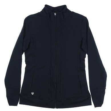New Womens Straight Down Golf Jacket Medium M Black MSRP $94 W60250