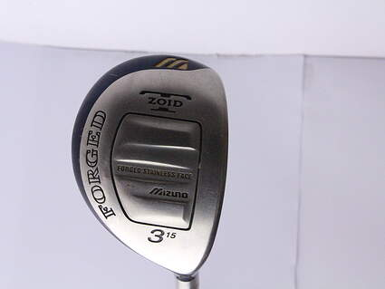 Mizuno T-Zoid Forged Fairway Wood 3 Wood 3W Stock Graphite Shaft Graphite X-Stiff Right Handed 43 in
