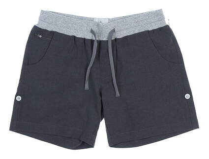 New Womens LinkSoul Golf Shorts Size Small S Gray MSRP $75 LSW603