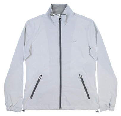New Womens LinkSoul Golf Wind Jacket Medium M Gray MSRP $110 LSW501