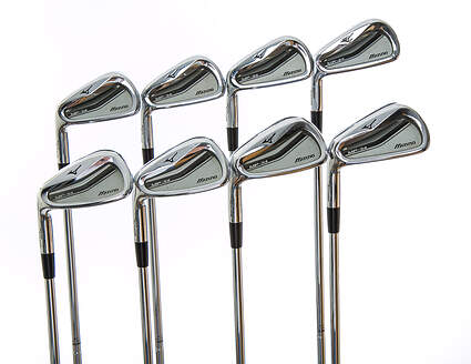 Mizuno MP-54 Iron Set 3-PW True Temper Dynamic Gold S300 Steel Stiff Left Handed 38.25 in