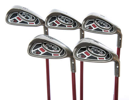 Ping G15 Iron Set 6-PW Ping TFC 149I Graphite Stiff Right Handed White Dot 38 in