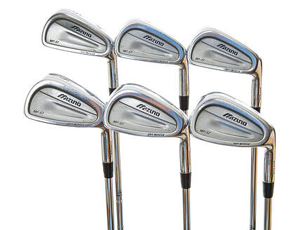 Mizuno MP 57 Iron Set 5-PW True Temper Dynamic Gold S300 Steel Stiff Right Handed 37.5 in