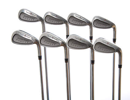 TaylorMade Supersteel Iron Set 3-PW TM R-80 Steel Steel Regular Right Handed 37.5 in