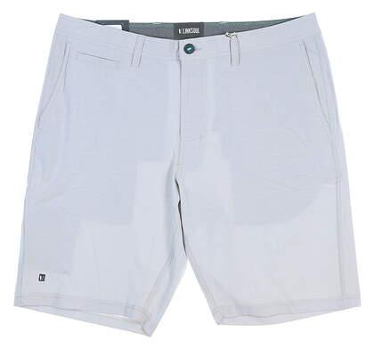 New Mens LinkSoul Golf Shorts Size 36 Gray MSRP $72 LS651