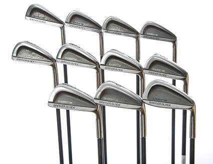 Cobra Baffler Blade Iron Set 1-SW Stock Graphite Shaft Steel Senior Right Handed 38.5 in