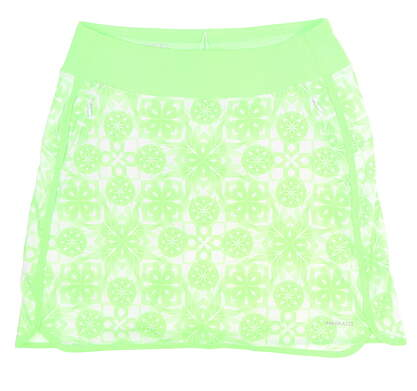 New Womens C&B Annika Atmosphere Print Pull On Skort Size Small S Zip MSRP $95 LAB00001