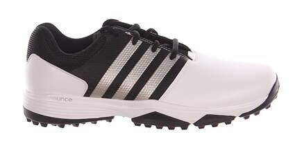 New Mens Golf Shoe Adidas 360 Traxion Medium 9.5 White/Black MSRP $80