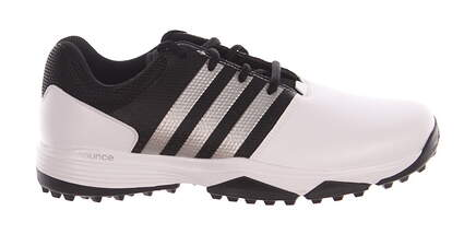 New Mens Golf Shoe Adidas 360 Traxion Medium 10.5 White/Black MSRP $80
