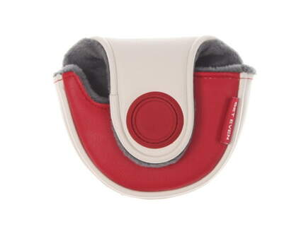 Evnroll ER8 Tour Mallet Putter Small Mallet Headcover Red/White