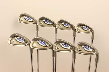 Ping i5 Iron Set 4-PW SW Ping CS Lite Steel Stiff Right Handed Green Dot 37.75 in