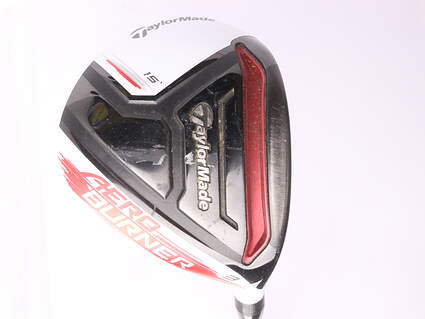 TaylorMade AeroBurner Fairway Wood 3 Wood 3W 15* Oban Isawa Red 75 Graphite Stiff Right Handed 43 in