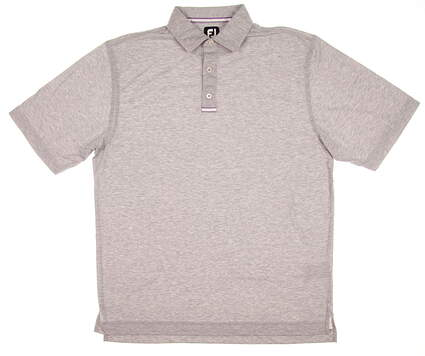 New Mens Footjoy Golf Polo Large L Gray MSRP $75