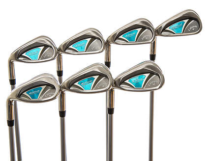 Callaway Rogue Iron Set 5-PW SW Aldila Quaranta Blue 40 Graphite Ladies  Left Handed b7ecc291e13