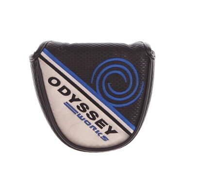 Odyssey Works Mallet Putter Headcover Silver/Black/Blue