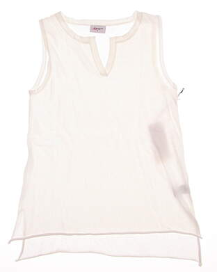 New Womens Jo Fit Departure Tank Small S White MSRP $85 LT111-WHT