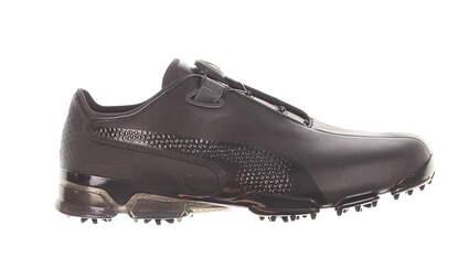 New W/O Box Mens Golf Shoe Puma TITANTOUR IGNITE Premium DISC 12 Black MSRP $180