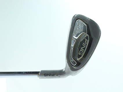 Ping i15 Single Iron 8 Iron Stock Steel Shaft Steel Regular Right Handed Purple dot 36.5 in