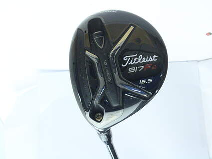 Titleist 917 F2 Fairway Wood 4 Wood 4W 16.5* Diamana M+ 60 Limited Edition Graphite Regular Left Handed 43 in